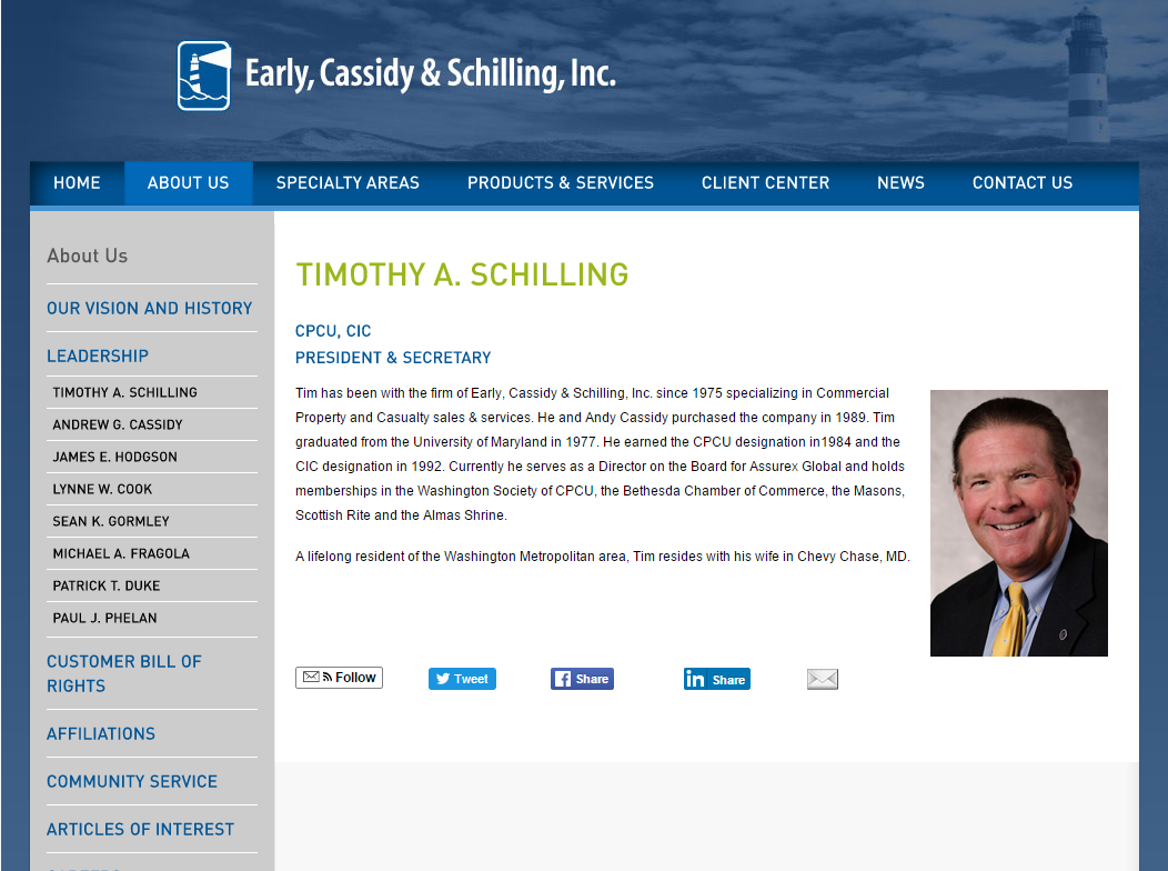 Early, Cassidy & Schilling, Inc.