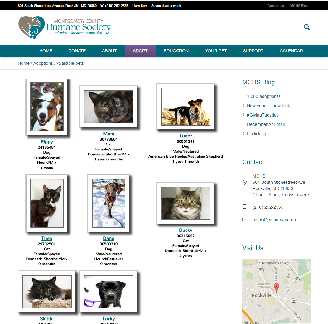 Montgomery County Humane Society